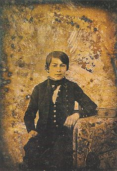Edouard Manet (1832-1883) as a young boy by Art & Vintage, via Flickr ~1840's?