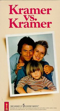 """Kramer vs. Kramer"", drama film by Robert Benton (USA, 1979)"