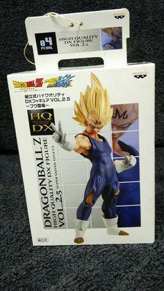Dragonball Z Super Saiyan Vegeta Figure Final Flash Banpresto New SK