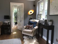 When deciding on the paint colour combinations for my home, I wanted to make each room different whilst ensure a natural flow & tonal balance was achieved. Room Color Schemes, Room Colors, House Colors, Paint Colors, Colours, Farrow And Ball Paint, Farrow Ball, Family Room Design, Hallway Decorating