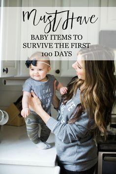 Mom + Baby // Newborn Must Haves to Survive the First 100 Days - Lauren McBride