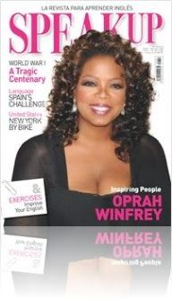 Speak Up: Oprah Winfrey Nº 347, Julio 2014