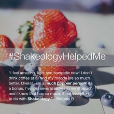 Doe Shakeology work? Well, it's helping people every single day to live healthier http://www.onesteptoweightloss.com/shakeology-results