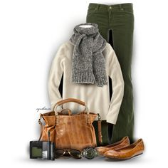"""""""Olive & Cream"""" by cynthia335 on Polyvore"""
