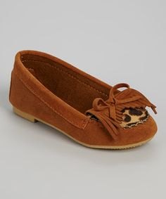 Another great find on #zulily! Tan Leopard Kiltie Loafer by Shoes of Soul #zulilyfinds