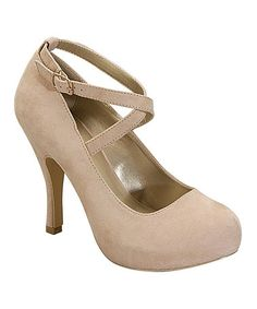 This Nude Sophia Platform Pump by I Heart Footwear is perfect! #zulilyfinds