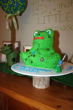 Frogs, Snails and Puppy Dog Tails Birthday Party Ideas | Photo 1 of 57 | Catch My Party