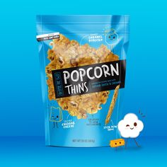 Popcorn Thins on Packaging of the World - Creative Package Design Gallery