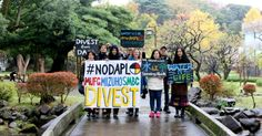 Global demonstrations are calling on banks to divest from the controversial Dakota Access Pipeline, citing human rights abuses against water protectors.