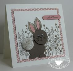 Yvonne is Stampin' & Scrapping: Stampin' Up! Flowers & Friends, honeycomb, Flowering Fields #stampinup