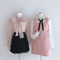 "🍯 on Twitter: ""anime girl jimin ......… "" Kpop Fashion Outfits, Ulzzang Fashion, Korean Outfits, Girly Outfits, Pretty Outfits, Fashion Dresses, Kawaii Fashion, Cute Fashion, Look Fashion"