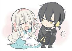 Mary and Kuroha  I don't ship theme but they are very cute together x3 ♡