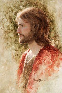 Jared Barnes Painting The Prince of Peace Peach Paint, Jesus Christ Painting, Jesus Loves Us, Isaiah 9, Jesus Christ Images, Lds Art, Best Hero, Prince Of Peace, King Of Kings