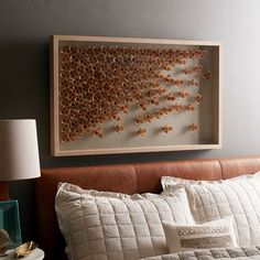Tufted Leather Button Bed | west elm