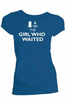 Doctor Who Girl Who Waited Juniors Tee (Small, Blue) Doctor Who http://www.amazon.com/dp/B00JBQVBK2/ref=cm_sw_r_pi_dp_RBzPtb0903HYTT61