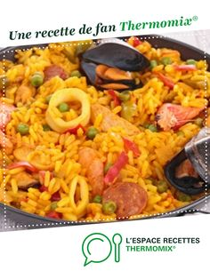 Italian Recipes 89295 Paella Express by A fan recipe to find in the Main dish - various category on www.fr, from Thermomix <sup> ® </sup>. Vegetarian Italian Recipes, Vegetarian Meals For Kids, Meat Recipes, Appetizer Recipes, Meat Appetizers, Salad Recipes, Cooking Recipes For Dinner, Easy Cooking, Cooking Fails
