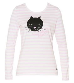 Peter Alexander - Kitty Cat Collection - Whats Up Kitty Cat Tee
