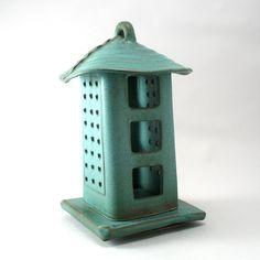 Lantern Rustic Weathered Bronze Glaze by cherylwolffgarden on Etsy, $150.00