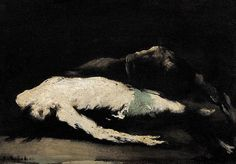 Théodule RibotSaint Vincent protected by Ravens 19th century