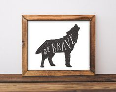 Run Wild Printable Bear Nursery Wall Art Boy by INVITEDbyAudriana