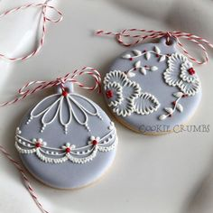 Cookie Crumbs (Christmas Bake Royal Icing)