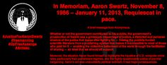 Anonymous Appears To Have Hacked MIT Website, Leaves SwartzTribute