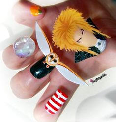 labrynth nails - Haha! I wouldn't wear but these are great :-)