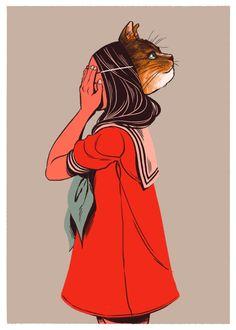 by Monica Esquivel http://moaniecat.tumblr.com/
