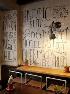 navona_big_01 - Gorgeous chalk lettering and mural typography by Tommaso Guerra