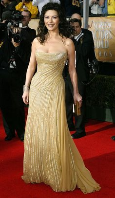 Catherine looked every inch a Hollywood siren at the Screen Actor's Guild Awards…