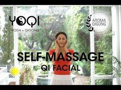 QI FACIAL: Self-facial massage with qigong - YouTube