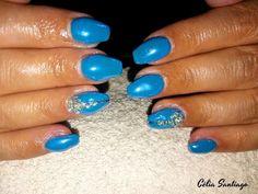 Diário Feminino: Unhas de Gel | Manutenção de Unhas - Blue Sky By N...