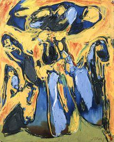 Asger Jorn - Euphorisme, 1970, oil on canvas