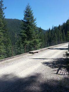 Hiawatha trail.
