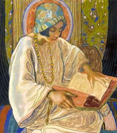 Reading and Art: Charles-Clos Olsommer