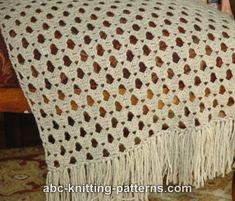 ABC Knitting Patterns - Prayer Shawl