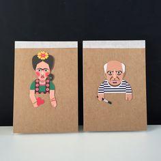 Magic Realist Sketchbook (Frida/Picasso)
