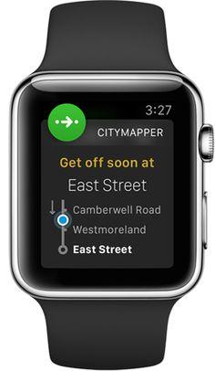 Citymapper on Apple Watch — iOS App Development — Medium
