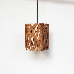 The lamp is ready for direct connection to the ceiling – hardwired.  Consists of birch plywood pieces which are already assembled. You will get the