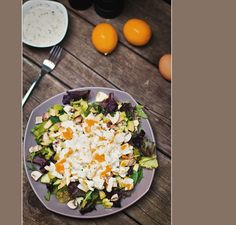 high protein lunch salad