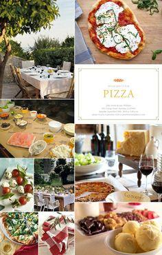 Pizza party ideas.