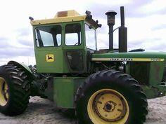 John Deere 7020 tractor salvaged for used parts. All States Ag Parts 877-530-4430.