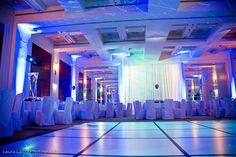 Room lighting - Club theme - bar bat mitzvah - Lighting design - DB Creativity - laura@dbcreativity.com