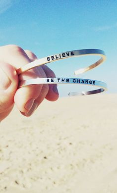 Believe + Be The Change
