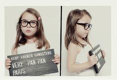 Hipster kids glasses