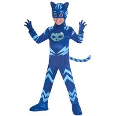 Do you have a party that needs a fancy dress costume, they we have the costume for you! Take a look through our great range or fancy dress costumes for men and women! Anime Cosplay, Pj Masks Kostüm, Mask Cat, Mardi Gras, Le Weekend, Boys Fancy Dress, Blue Jumpsuits, Party Stores, Halloween