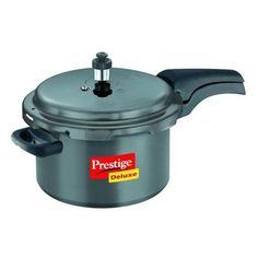 Prestige Deluxe Hard-Anodized Pressure Cooker 5 Lt   #5 Lt Cooker #Pressure Cooker