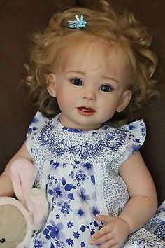 Reborn Toddler Bonnie by Linda Murray and Puddin'cake Babies