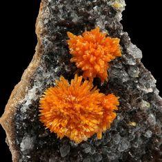 Boltwoodite on Calcite ex Jack Halpern Collection | Goanikontes Claim, Erongo Region, Namibia