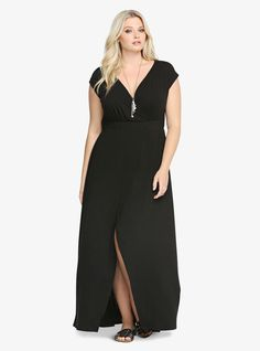 Love this dress!  Plus Size Tulip Maxi Dress